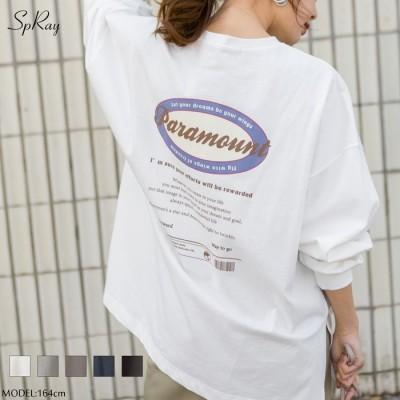 SpRay オーバルロゴBIG Tシャツ  M レディース