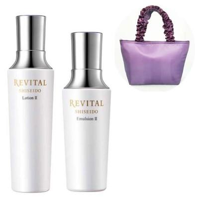 REVITAL(リバイタル) II しっとりタイプ 化粧水・乳液セットオリジナル保冷バッグ付き 資生堂