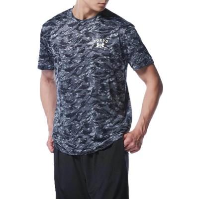 読売ジャイアンツ/巨人 グッズ Tシャツ UA GIANTS CAMO TEE Aug. TOKYO アンダーアーマー/UNDER ARMOUR ブラック