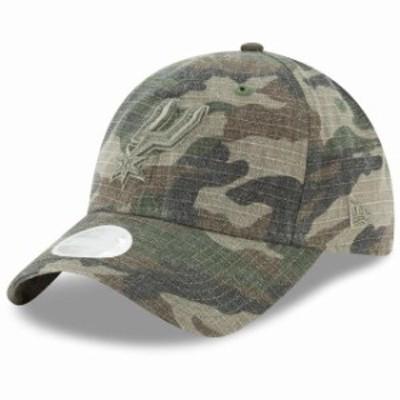 New Era ニュー エラ スポーツ用品  New Era San Antonio Spurs Womens Camo Core Classic 9TWENTY Adjustable Hat
