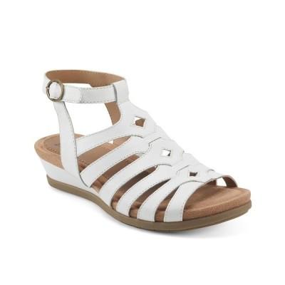 アース サンダル シューズ レディース Women's Pippa Sandal White - Leather