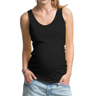 ユニセックス 衣類 トップス JNniff Maternity Nursing Basic Tank Top Sleeveless Breastfeeding Clothes マタニティ