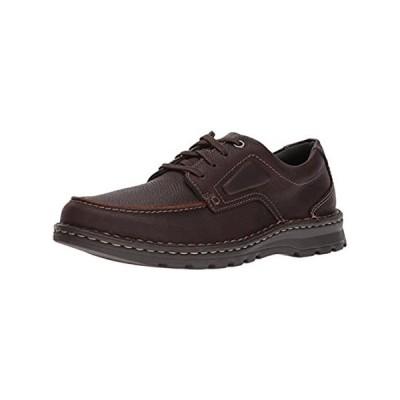 Clarks Men's Vanek Apron Loafer, Brown Oily Leather, 13 Wide US