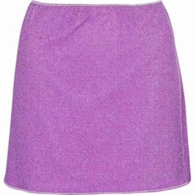 オセリー Oseree レディース ミニスカート スカート Lumiere miniskirt Lilac