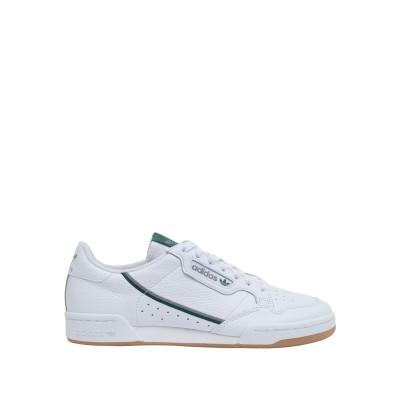 ADIDAS ORIGINALS スニーカー&テニスシューズ(ローカット) ホワイト 8 革 スニーカー&テニスシューズ(ローカット)