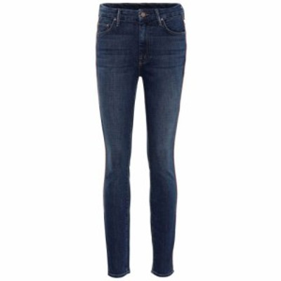 マザー Mother レディース ジーンズ・デニム ボトムス・パンツ Looker high-rise skinny jeans What I Had Before I