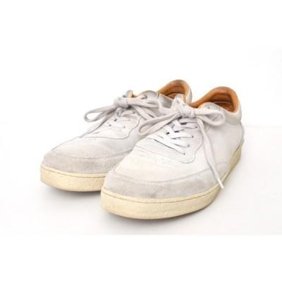 スリースリートゥエンティー 3-3-20 ◆ Index Sneaker インデックス レースアップ スウェード スニーカー/42/ライトグレー P445