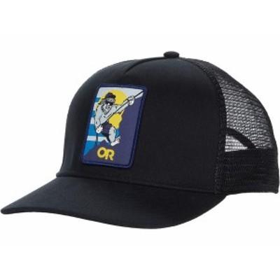 アウトドアリサーチ メンズ 帽子 アクセサリー Squatchin' Trucker Cap Black