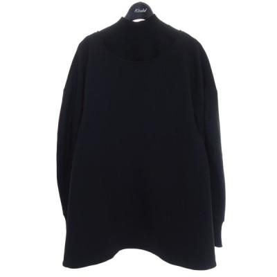ENFOLD 【2020S/S】ネックパーツ付ブラウス ブラック サイズ:38 (京都店) 210810