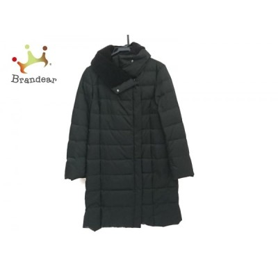 アマカ AMACA ダウンコート サイズ40 M レディース 美品 - 黒 長袖/冬 新着 20201123