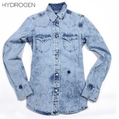 ハイドロゲン(HYDROGEN) LUXURY SPORTSWEAR レディース ダンガリーシャツ デニム 181552 001 61S