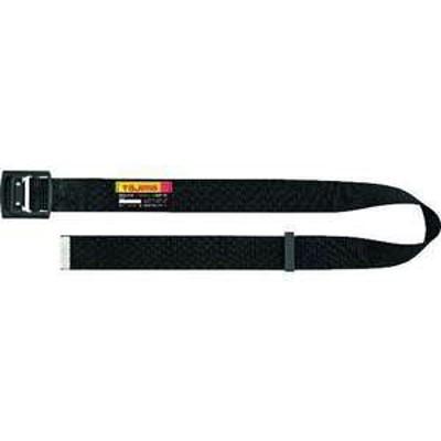 タジマ 胴ベルト アルミワンフィンガー黒バックル Mサイズ(品番:BABM125-BK)『1680078』