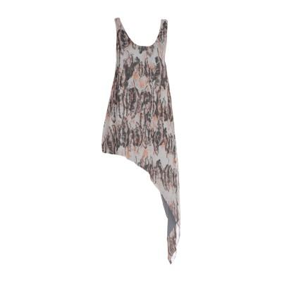 RORY BECA 7分丈ワンピース・ドレス ドーブグレー M シルク 100% 7分丈ワンピース・ドレス