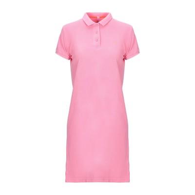 サンシックスティエイト SUN 68 ミニワンピース&ドレス ピンク XL 100% コットン ミニワンピース&ドレス