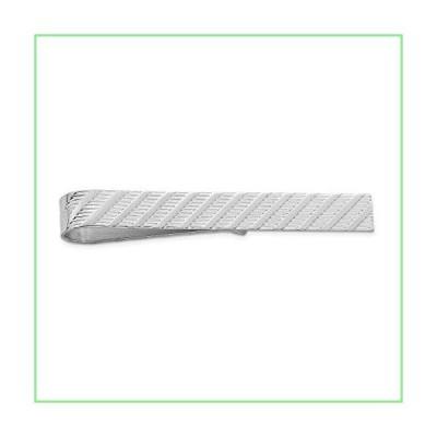 925 Sterling Silver Rhodium-plated Tie Bar 並行輸入品