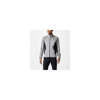 MIZUNO ミズノ テックベントシャツ メンズ スポーツウエア トレーニングウエア チャコールグレー32MC8130 05