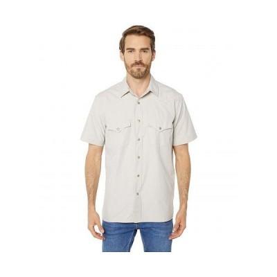 Filson フィルソン メンズ 男性用 ファッション ボタンシャツ Short Sleeve Snap Front Shirt - Sandstone