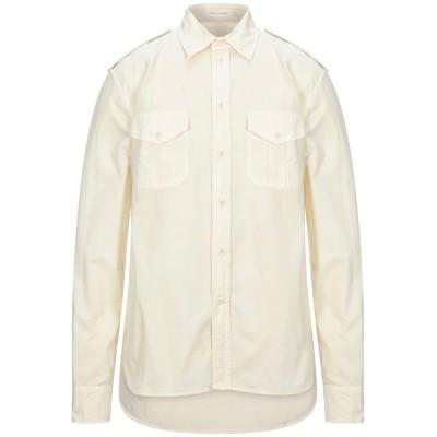 マーク ジェイコブス MARC JACOBS シャツ ライトイエロー 54 コットン 100% シャツ