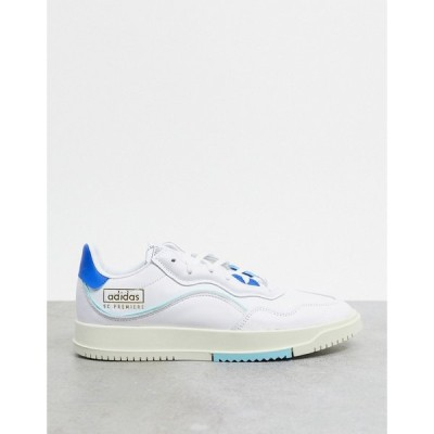 アディダス adidas Originals メンズ スニーカー シューズ・靴 SC Premiere trainers in white ホワイト