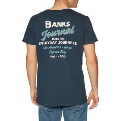 バンクス Banks メンズ Tシャツ トップス encore short sleeve t-shirt Dirty Denim
