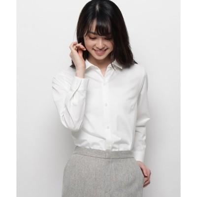 smart pink / スマート ピンク 【洗える】ジャージボタンシャツ