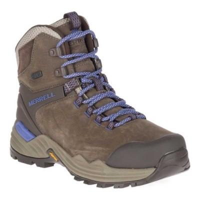 メレル ブーツ&レインブーツ シューズ レディース Phaserbound 2 Tall Waterproof Hiking Boot (Women's) Boulder Full Grain Leather