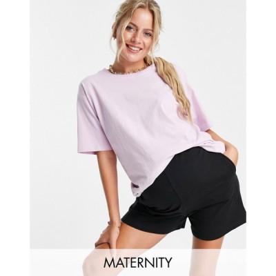 アーバン ブリス マタニティー Urban Bliss Maternity レディース ショートパンツ ボトムス・パンツ Shorts In Black ブラック