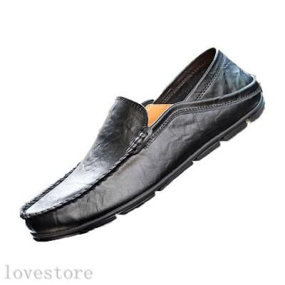 ローファー 革靴 本革 スリッポン メンズ ビジネスシューズ モカシン ドライビング 歩きやすい フォーマル ファッション 柔らかい 学生
