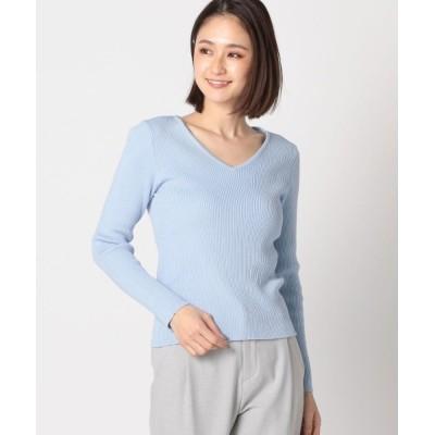 MEW'S REFINED CLOTHES / 定番Vニット WOMEN トップス > ニット/セーター