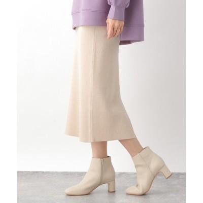 スカート 12Gラクケアニットスカート 925189
