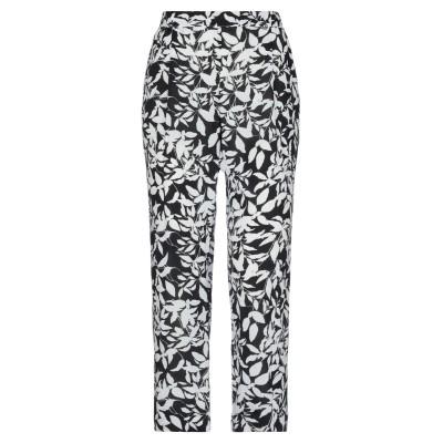 MARIA GRAZIA SEVERI パンツ ブラック 44 レーヨン 100% パンツ