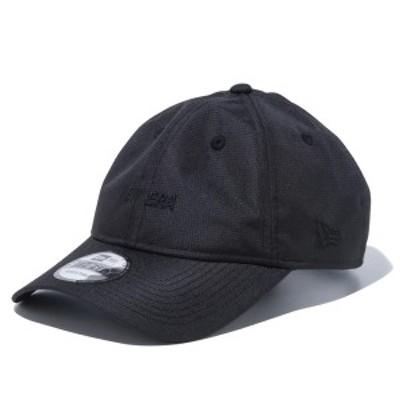 ニューエラ キャップ 帽子 メンズ レディース エクスプローラー 撥水 9THIRTY 黒 NEW ERA クロスストラップ シール サイズ調節 カーブド