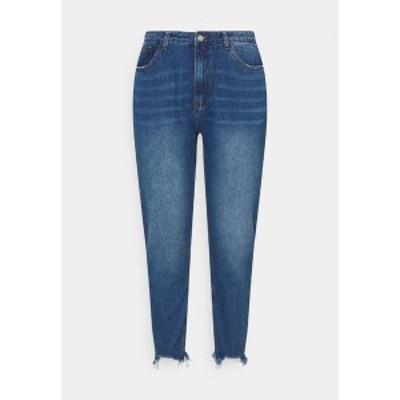 ミスガイデッド レディース デニムパンツ ボトムス RIOT DISTRESSED  - Relaxed fit jeans - blue blue