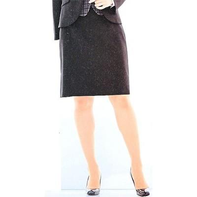 FS45749-9 バックアップウエストセミタイトスカート(9号:54cm丈) 全1色 (フォーク FOLK ヌーヴォ NUOVO 事務服 制服)