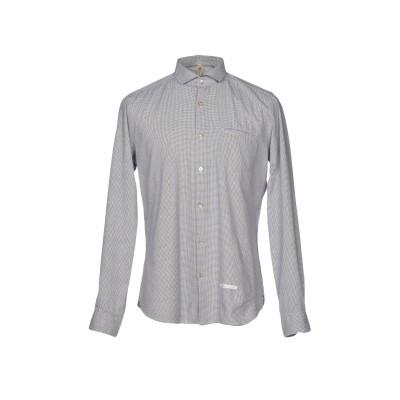 DNL シャツ ダークブルー 40 コットン 100% / ナイロン シャツ