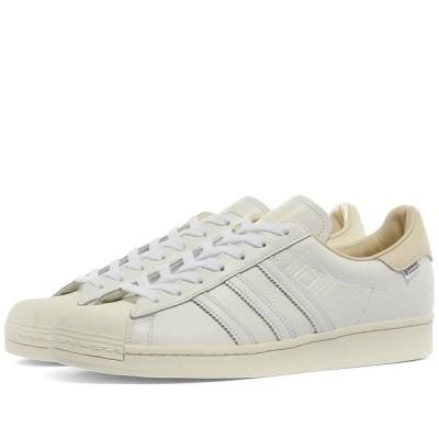 アディダス Adidas メンズ スニーカー シューズ・靴 Superstar Gore-Tex White/Off White