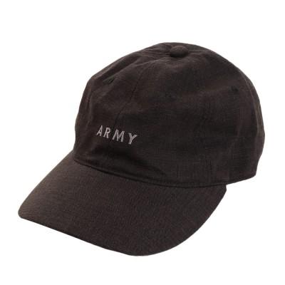 ACPGトレッキングリネン刺繍 ARMY キャップ 897PA9ST1671 BLKブラック