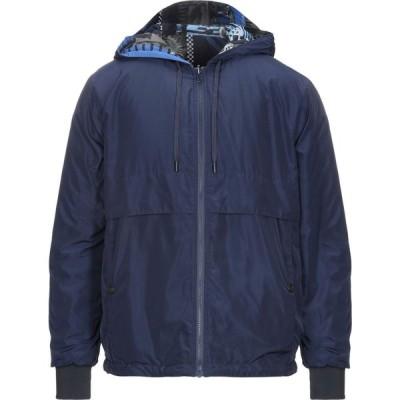 ヴェルサーチ VERSACE メンズ ジャケット アウター jacket Dark blue