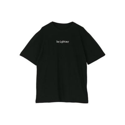 ロゴ半袖Tシャツ (ブラック)