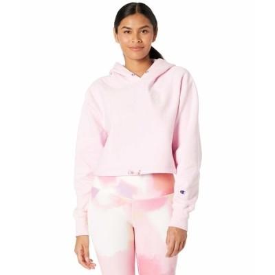 チャンピオン パーカー・スウェットシャツ アウター レディース Reverse Weave Contrast Stitch Cinch Hoodie Xtra Pink