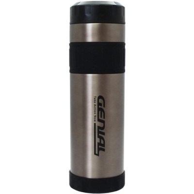 タフコ 魔法瓶 直飲み ステンレスボトル ジュニアル マグカップ ブラック 1000ml F-2643
