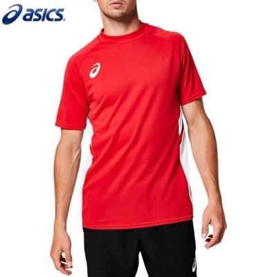 asics/アシックス 2101A038 サッカーウェア メンズ ゲームシャツ クラシックレッド