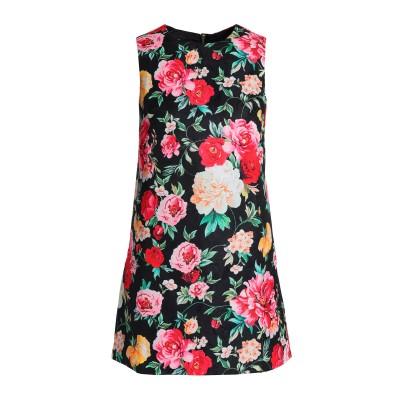 RAOUL ミニワンピース&ドレス ブラック L レーヨン 65% / コットン 35% ミニワンピース&ドレス