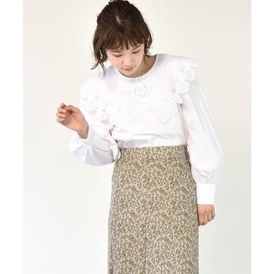 レトロガール RETRO GIRL レース襟BL (ホワイト3)