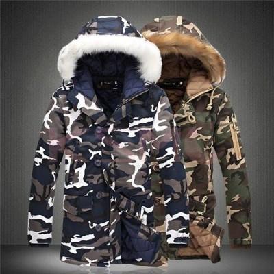 ダウンコート メンズ レディース ブランド ビジネスコート アウター ダウンジャケット キルティング 中綿コート ファーフード 防寒防風 ペア服 クリスマス