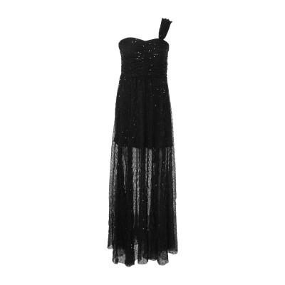 ピンコ PINKO ロングワンピース&ドレス ブラック 38 ポリエステル 95% / ポリウレタン 5% ロングワンピース&ドレス