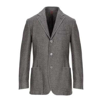 CORNELIANI ID テーラードジャケット ダークブラウン 48 ウール 55% / ポリエステル 45% テーラードジャケット