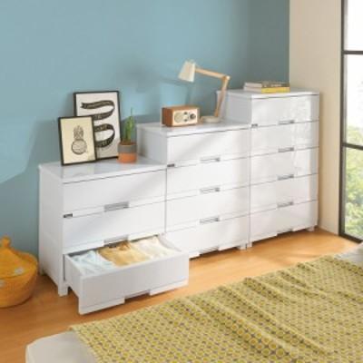 家具 収納 衣類収納 タンス チェスト Fits フィッツプラスプレミアム 幅65cm・5段 573613
