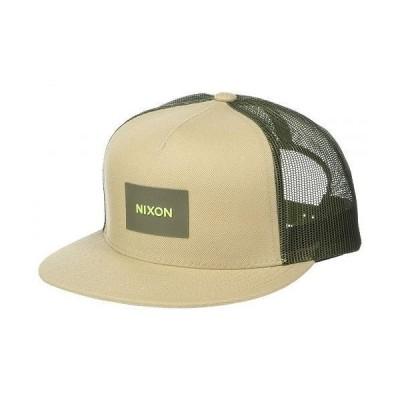 Nixon ニクソン メンズ 男性用 ファッション雑貨 小物 帽子 Team Trucker Hat - Khaki/Olive