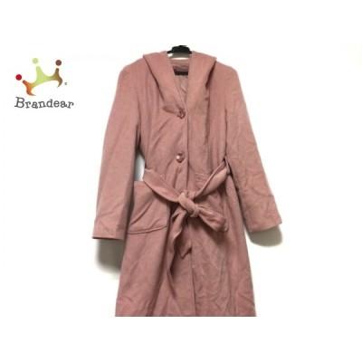 リリーブラウン Lily Brown コート サイズF レディース - ライトピンク 長袖/冬 新着 20210127